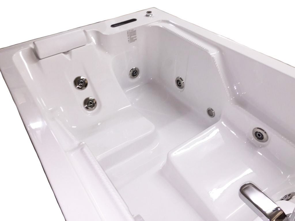 2 Person Deluxe Computerized Big Whirlpool W Heater M1812d