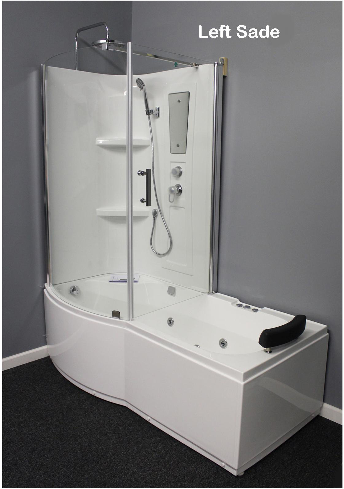 Shower Room with Deluxe Whirlpool Tub . 9045L - Constar USA