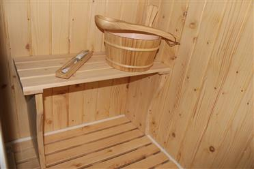 Deluxe Shower / Dry Sauna Combo System + Steam Cabin. B001 - Image 13