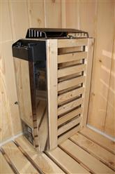 Deluxe Shower / Dry Sauna Combo System + Steam Cabin. B001 - Image 16