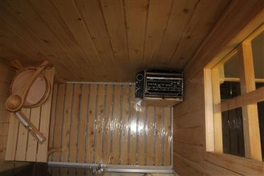 Steam Shower Enclosure with Traditional Sauna 	B001 display Sale - Image 14