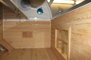 Deluxe Shower / Dry Sauna Combo System + Steam Cabin. B001 - Image 19