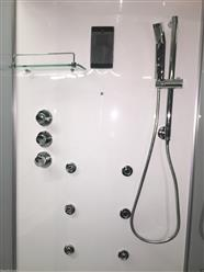 Steam Shower Cabin w/Hydro Massage.Bluetooth. 09009 - Image 7