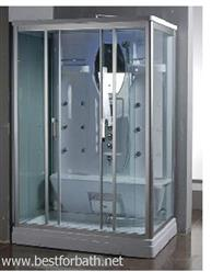 2 Person Steam Shower Room.w/aromatherapy & Steam Sauna. 9027. SALE - Image 1