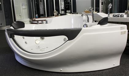 Corner JETTED BATHTUB,Hydromassage,Whirlpool,Air Bubble. M3150D - Image 8