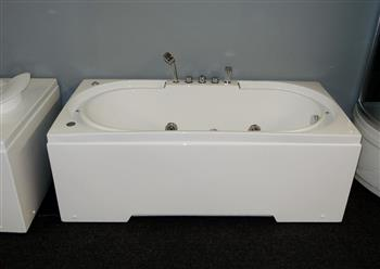 Hydrotherapy massage bathtub with multicolored LED waterfall. B306 - Image 4