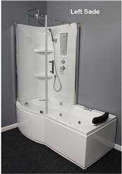 Shower Room with Deluxe Whirlpool Tub . 9045L - Image 1